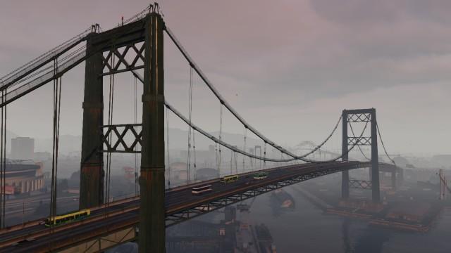 мост гта 5