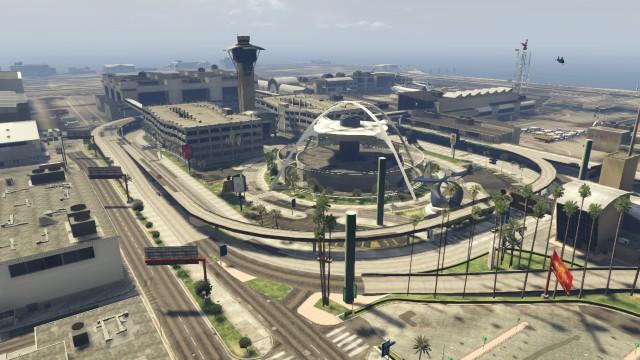 аэропорт гта 5